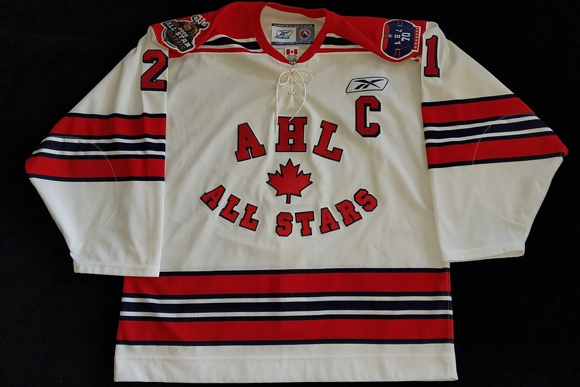53990c50cbd AHL Game Worns at Johnson's Jerseys